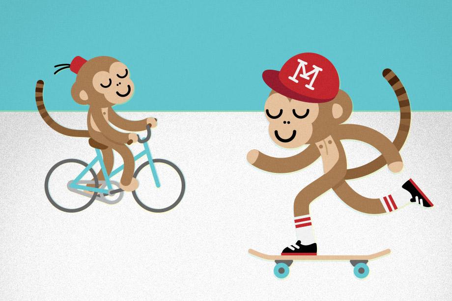 Volkan Cenberoglu Studio Volito Monkey Emoji Set