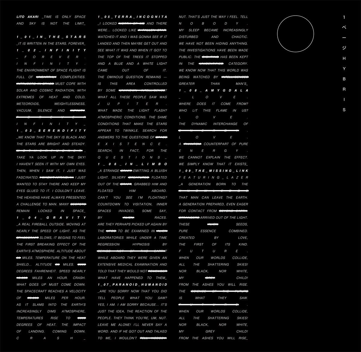Studio Volito - Lito Akari Cover sleeve 1