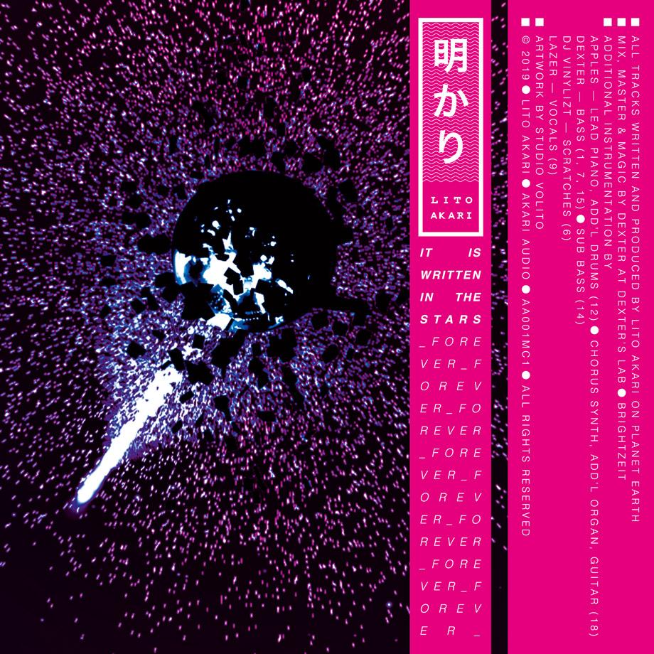 Studio Volito - Lito Akari Tape inside