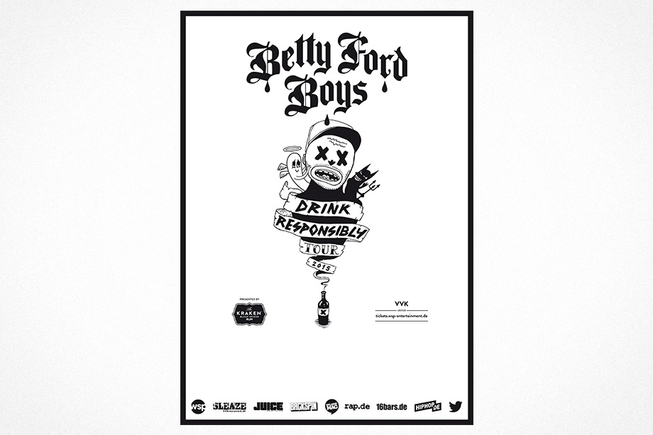 Betty Ford Boys - Drive Responsibly Tour by studio volito