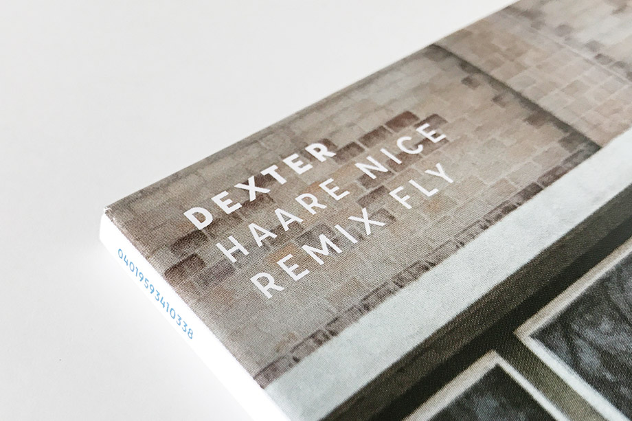 Dexter 'Haare Nice Remix Fly' cover artwork title by studio volito