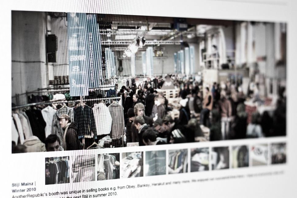 — Trade fair sales