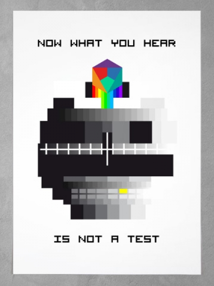 Now what you hear is not a test